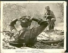 Robert Ryan in Men in War 1957 Korean War original movie photo 15115