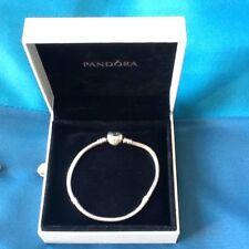 Genuine Pandora Charm Braclet And 3 Charms
