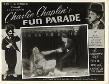 A NIGHT IN THE SHOW (1915) Drunk Charlie Chaplin Pulls May White Off Leo White