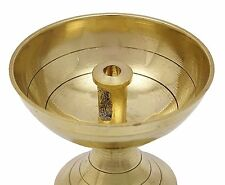Brass Diya Depak Akhand Jyot Kuber Navratra Havan Puja Religious OIL Lamp Diwali