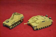 2 x BANDAI 1:48 SCALE Pre Built Model Kit ARMOURED VEHICLES