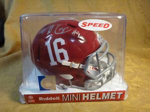 Alabama's Amari Cooper Signed Riddell Mini Helmet W/ Hologram COA - Free S&H USA