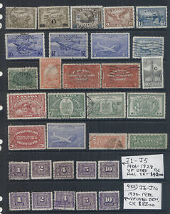 Canada Back of Book VF Used High CV Lot #932