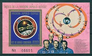 EQUATORIAL GUINEA*1975* S/Sheet *MNH** Space - Apollo-Soyuz - Mi.No BL181