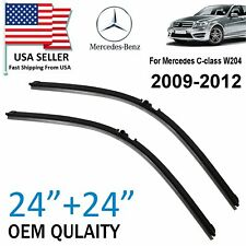 New ToP OEM Quality Windshield Wiper Blades For Mercedes Benz C Class W204 09-12