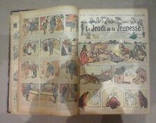 Le Petit Journal Illustré de la Jeunesse. Le Jeudi de la Jeunesse. VV.AA.