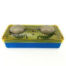 Oculo Plastik Durette II Laser Patient Eye Shield Metal Opaque Goggles Small
