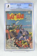 Batman #43 CGC 0.5 Incomplete 1947  Penguin Cover