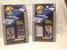 NASCAR 1991 MAXX RACE CARDS (2 SETS) FACTORY SEALED *RARE UPSIDE DOWN*