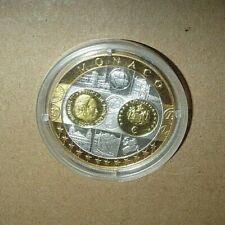 Argent 999 ‰ Médaille Europa Europe ; 1ère frappe Monaco : 2002 BE Ø 40 mm