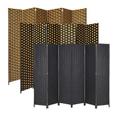 3/4/6 PANEL ROOM DIVIDER PARTITION FOLDING SEPARATOR PRIVACY SCREEN #