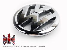 VW POLO 6R [2009-2014] FRONT GRILLE BADGE CHROME EMBLEM LOGO - 120MM 6R0853600A