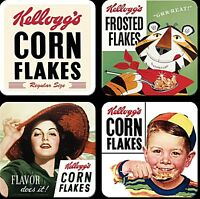 Kelloggs set of 4 drinks coasters (na)