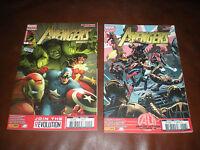 THE AVENGERS UNIVERSE - LOT DE 2 TOMES N°1 ET 6 - MARVEL PANINI COMICS 2013