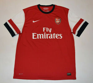 Fly Emirates Men RESMAN Jersey XL Red Nike Arsenal V Neck Victoria Concordia B21