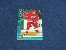 LUC ROBITAILLE RED WINGS 2001-02 BAP MEMORABILIA EMERALD #376 07/10 (SB-3)