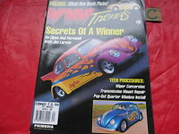 VW TRENDS MAGAZINE April 1998 DRAG BUG-NEW BEETLE-BUGGY'S-T3 NOTCHBACK CABRIO