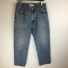 Levis Jeans - 550 Relaxed Fit Light Distressed - Tag Size: 34x30 (32x28) - #3695