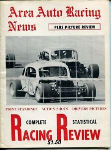 Area Auto Racing News 1972-pictorial format-Langhorne-Reutimann-Lancaster-VG/FN