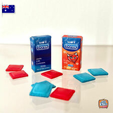 Miniature Condoms Packs - Miniature dollhouse 1:12 Little Shop Mini Brands