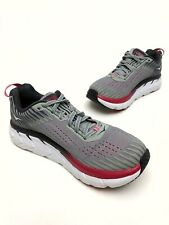 @@ WOMENS HOKA ONE ONE CLIFTON 5 RUNNING SHOES 7.5 EU39 GRAY Athletic EUC