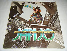 JANJO LP Where Are You Jimmy Reed? SEALED Rare OK Blues Hard Psych 1981 Seeds