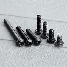 50Pcs M3 Srew 6/8/10/12/16/20/30mm 10.9 Black Iron Bolts Head Hex Hexagon Screws