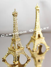12 pc EIFFEL TOWER GOLD PARIS GIFT WEDDING BRIDAL SHOWER PARTY FAVORS 15 ANOS