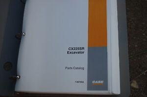 CUSTODIA CX225SR Excavator Crawler Trackhoe Parts Manual book catalog 2002