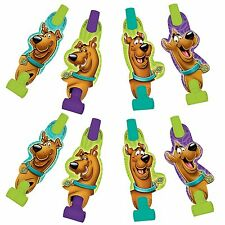 Scooby Doo Blowouts 8PK Party Decoration Mirltons Lootbag Favours