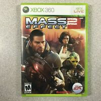 Mass Effect 2 Video Game (Microsoft Xbox 360, 2010) Complete