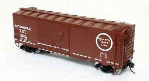 Atlas Double-Door Automobile Boxcar - Atlantic Coast Line - O Scale, 2-rail.