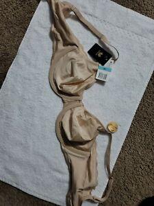 NEW Wacoal ULTIMATE SIDE SMOOTHER bra BEIGE   size 36 C US & UK    855338