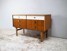 1960's English mid century petite sideboard