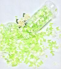 vert clair biodégradable Confettis Papillon Ivoire Eco GRAND SAC VINTAGE CITRON