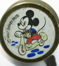 unusual 1950's German Reich MICKEY MOUSE BELL bicycle scooter tricycle Disney *