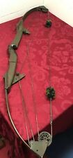 Vtg. Bear Archery Whitetail Hunter Compound Bow String Length 49� As Is Man Cave