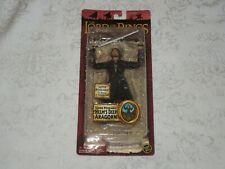 Toy Biz Lord of the Rings LOTR Two Towers Helm's Deep Aragorn Super Poseable