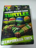 Las Tortugas Ninja Teenage Mutant Turtles Temporada Tres 3 Completa - 4 x DVD