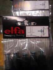 1pack of 5  Elfa Easy Hanging Shelving Drywall Anchors