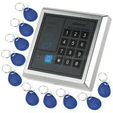 Electronic RFID Entry Door Lock Access Control System + 10 Key Fob US Shipping