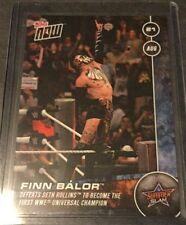 2016 Topps Now Finn Balor #2 Print Run 221 Rare WWE Universal Champion