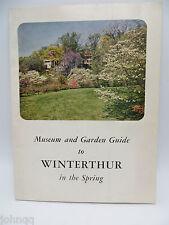Vintage 1960 Winterthur Museum and Garden Guide, Delaware