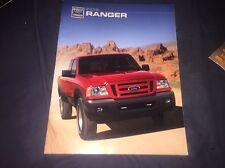 2006 Ford Ranger Pickups Original Color Brochure Prospekt