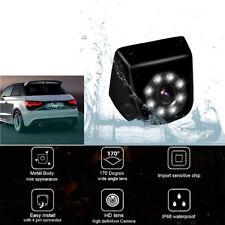 170° HD CCD Car Auto Rear View Camera Waterproof Mental 8 LED Light Night Vision
