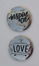 n 2 Love INSPIRE ON POCKET TOKEN bride & groom keep 1 give 1 away share message