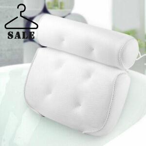 Luxury Bathroom Spa Bath Pillow Non-Slip Comfortable Bathtub Headrest Cushion
