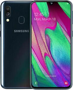 Samsung Galaxy A40 SM-A405F DUAL SIM Schwarz.