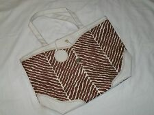 Estee Lauder Tote Bag Shopper Beach Brown Cream