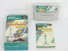 THE LEGEND OF ZELDA TRIFORCE Ver 1.0 Ref/bcc Super Famicom Nintendo sf